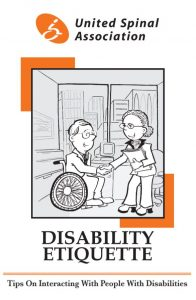Disability Etiquette by United Spinal Association